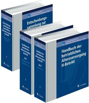 Handbuch und Entscheidungssammlung zur betrieblichen Altersversorgung | aba - Arbeitsgemeinschaft für betriebliche Altersversorgung e.V. (Hrsg.) | Loseblattwerk mit Aktualisierungen, 2013 (Cover)