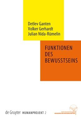 Abbildung von Ganten / Gerhardt | Funktionen des Bewusstseins | 1. Auflage | 2008 | beck-shop.de