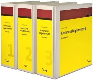 Kommunalabgabenrecht | Driehaus | Loseblattwerk mit 58. Aktualisierung, 1989 (Cover)