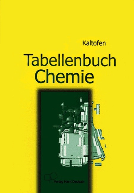 Tabellenbuch Chemie | Kaltofen / Ziemann | 13., durchges. Aufl., 1998 | Buch (Cover)