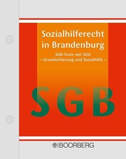 Abbildung von Sozialhilferecht in Brandenburg   1. Auflage   2020   beck-shop.de
