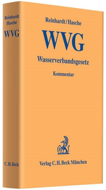 Wasserverbandsgesetz: WVG | Reinhardt / Hasche, 2011 | Buch (Cover)