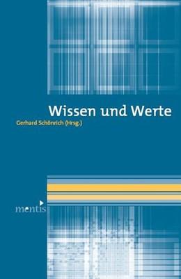 Abbildung von Schönrich | Wissen und Werte | 2009
