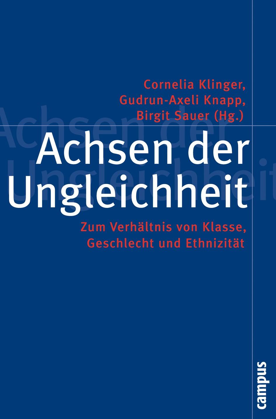 Abbildung von Klinger / Knapp / Sauer | Achsen der Ungleichheit | 2007