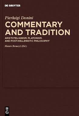 Abbildung von Donini / Bonazzi / Sharples   Commentary and Tradition   2010   Aristotelianism, Platonism, an...   4