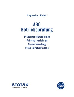 Abbildung von Papperitz / Keller | ABC Betriebsprüfung • Online | 1. Auflage | | beck-shop.de