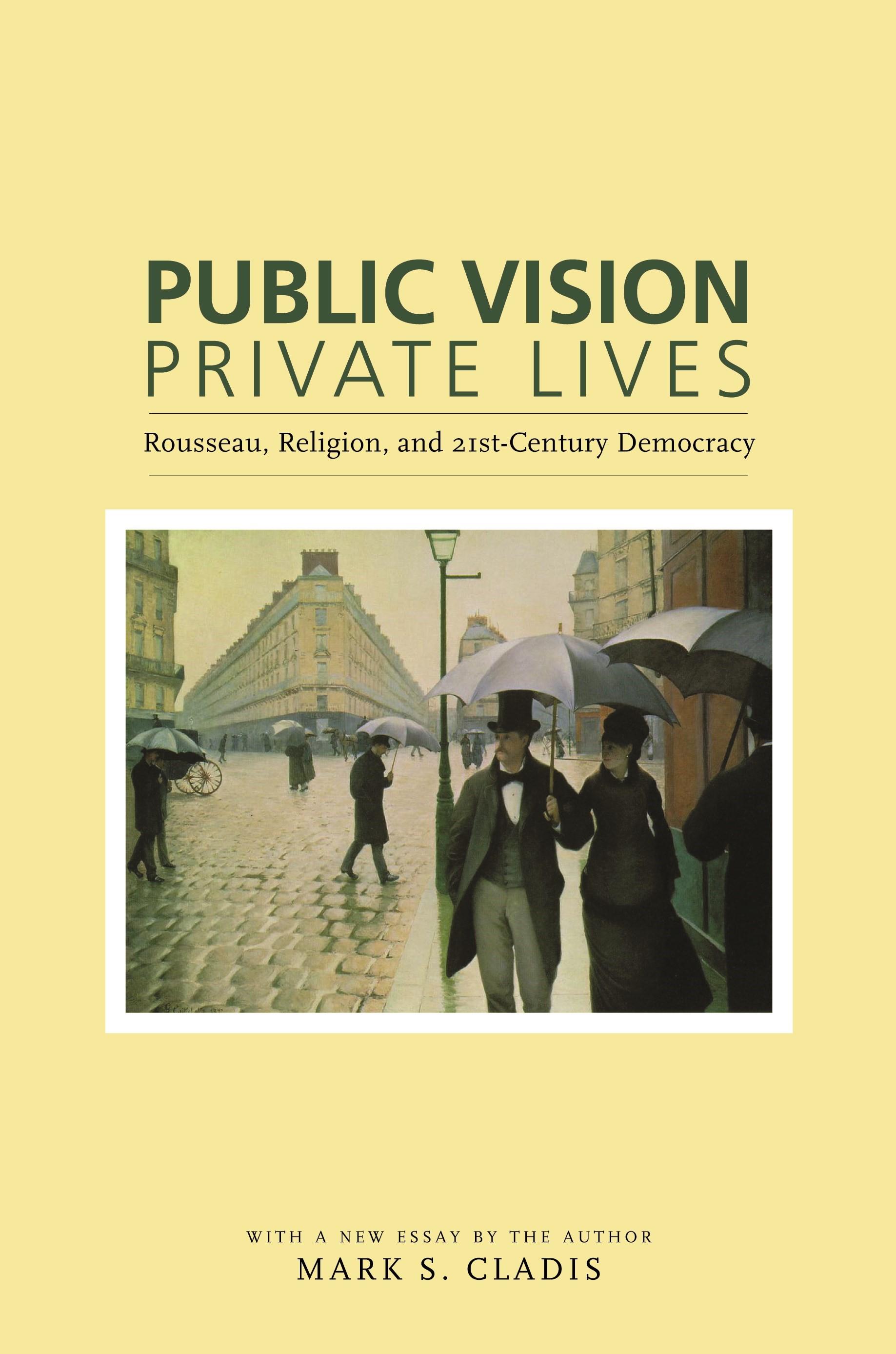 Abbildung von Cladis | Public Vision, Private Lives | 2006