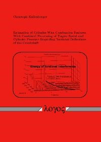 Estimation of Cylinder-Wise Combustion Features With Combined Processing of Engine Speed and Cylinder Pressure Regarding Torsional Deflections of the Crankshaft | Kallenberger, 2008 | Buch (Cover)