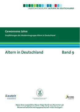 Abbildung von Gewonnene Jahre.   2009   Empfehlungen der Akademiegrupp...