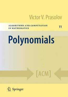 Abbildung von Prasolov   Polynomials   1st ed. 2004. 2nd printing   2009   11