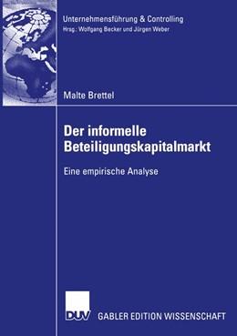 Abbildung von Brettel | Der informelle Beteiligungskapitalmarkt | 2004 | Eine empirische Analyse