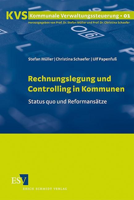 Rechnungslegung und Controlling in Kommunen | Müller / Papenfuß / Schaefer, 2009 | Buch (Cover)