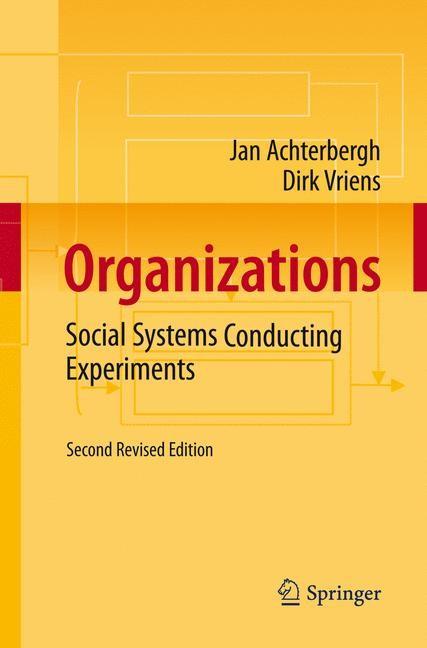 Organizations | Achterbergh / Vriens, 2010 | Buch (Cover)