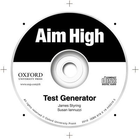 Aim High: Levels 1-5: Test Generator, 2011 (Cover)