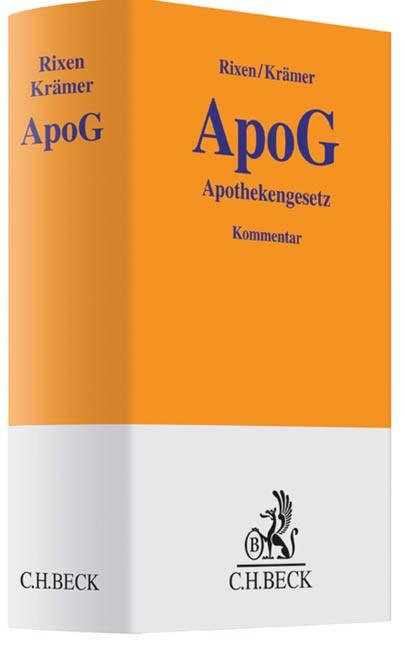 ApoG | Rixen / Krämer, 2014 | Buch (Cover)