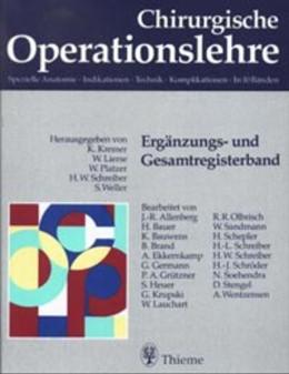 Abbildung von Kremer / Lierse / Platzer / Schreiber | Ergänzungsband- und Gesamtregisterband | 1999