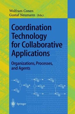 Abbildung von Conen / Neumann | Coordination Technology for Collaborative Applications | 1998 | 1364