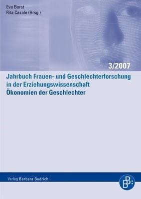 Ökonomien der Geschlechter | Borst / Casale / Rendtorff / Andresen / Moser / Prengel | 1., Aufl., 2007 | Buch (Cover)