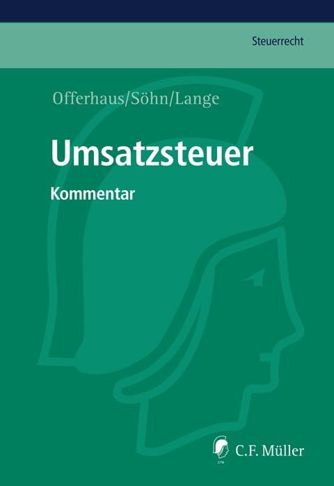 Umsatzsteuer • mit Aktualisierungsservice | Offerhaus / Söhn / Lange | Loseblattwerk mit 310. Aktualisierung, 2013 (Cover)