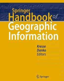 Abbildung von Kresse / Danko   Springer Handbook of Geographic Information   2012
