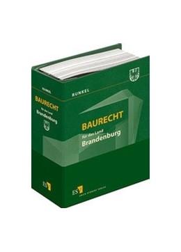 Abbildung von Runkel   Baurecht für das Land Brandenburg   1. Auflage   2019   beck-shop.de