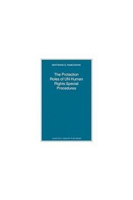 Abbildung von Ramcharan | The Protection Roles of UN Human Rights Special Procedures | 2008 | 74