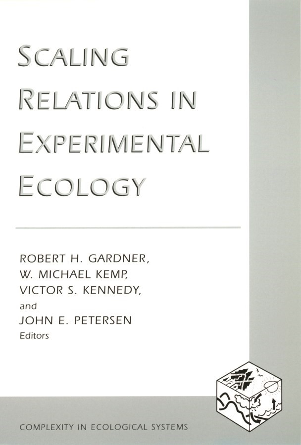 Abbildung von Gardner / Kemp / Kennedy / Petersen   Scaling Relations in Experimental Ecology   2001