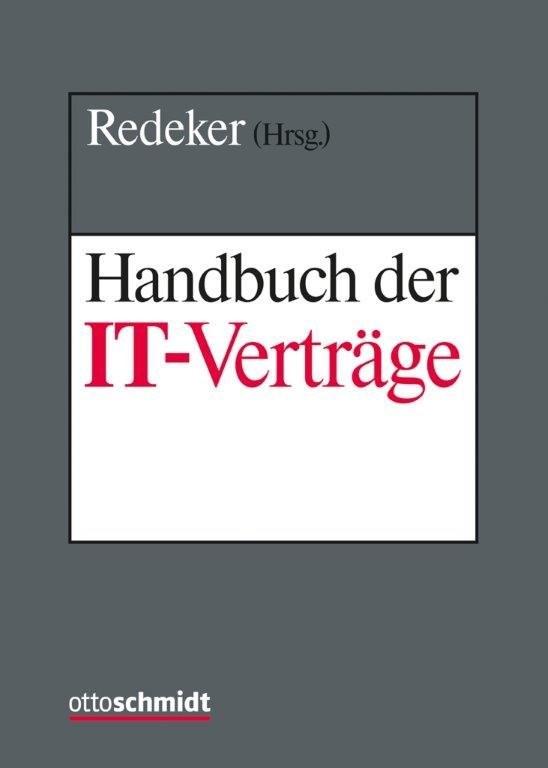 Handbuch der IT-Verträge • mit Aktualisierungsservice | Redeker (Hrsg.) | Loseblattwerk mit 36. Aktualisierung (Cover)