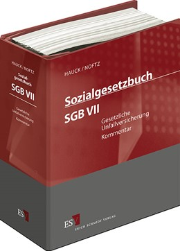 Abbildung von Hauck / Noftz | Sozialgesetzbuch (SGB) VII: Gesetzliche Unfallversicherung • mit Aktualisierungsservice | 1. Auflage | 2020 | beck-shop.de