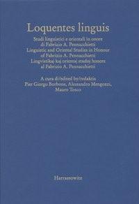 Loquentes linguis | Borbone / Mengozzi / Tosco, 2007 | Buch (Cover)