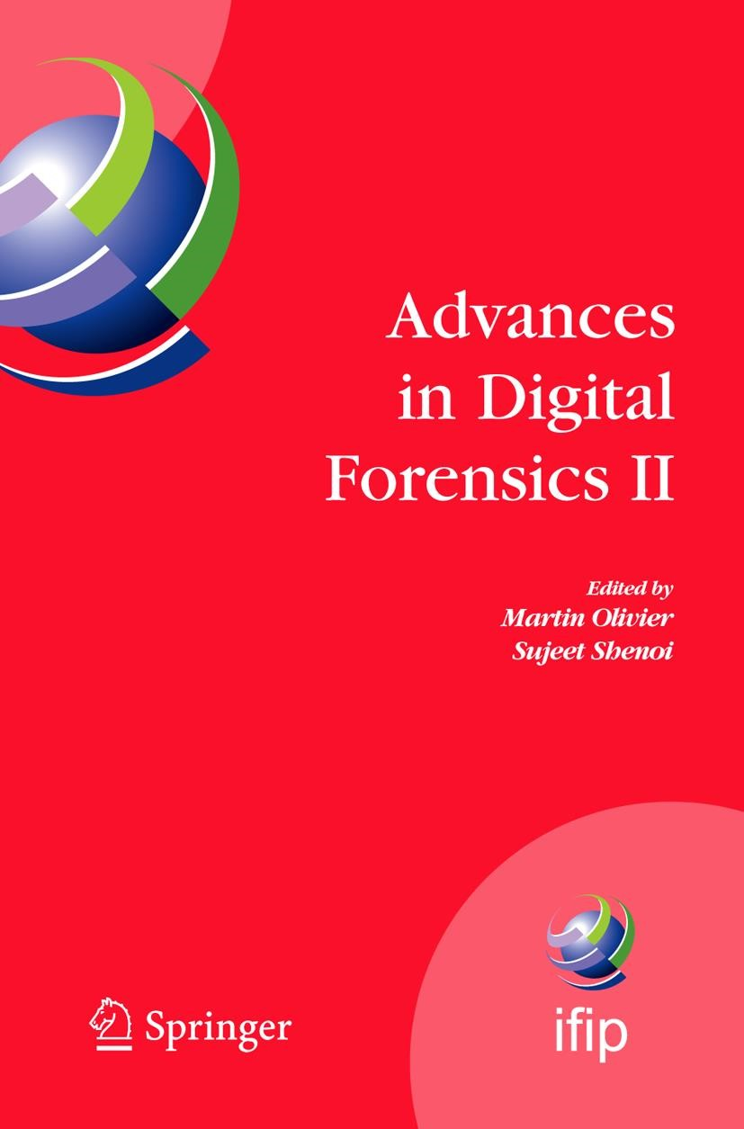 Advances in Digital Forensics II | Olivier / Shenoi, 2006 | Buch (Cover)