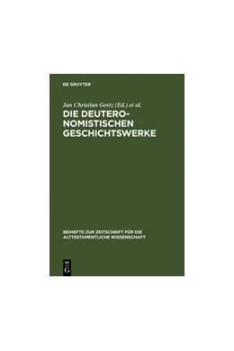 Abbildung von Gertz / Prechel / Schmid / Witte   Die deuteronomistischen Geschichtswerke   Reprint 2012   2006   Redaktions- und religionsgesch...   365