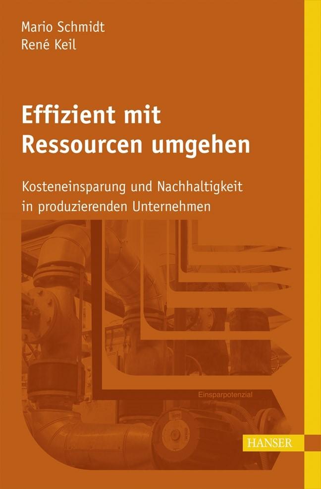 Effizient mit Ressourcen umgehen | Schmidt / Keil, 2017 | Buch (Cover)