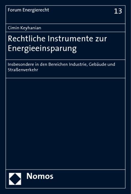 Abbildung von Keyhanian | Rechtliche Instrumente der Energieeinsparung | 2008