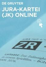 JURA-Kartei (JK) online (Cover)