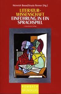 Literaturwissenschaft | Bosse / Renner, 2010 | Buch (Cover)
