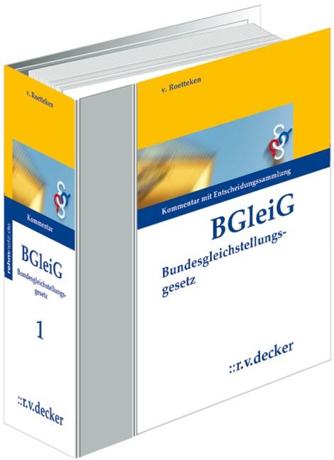 Bundesgleichstellungsgesetz - BGleiG | von Roetteken | Loseblattwerk mit 60. Aktualisierung, 2011 (Cover)