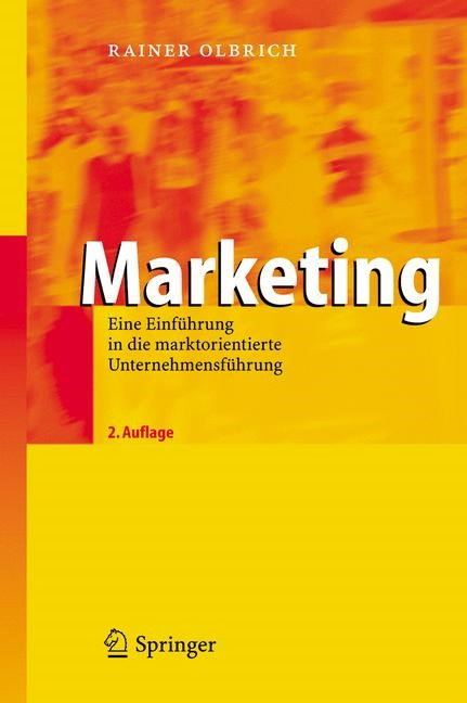 Marketing | Olbrich | 2., überarb. u. erw. Aufl., 2006 | Buch (Cover)