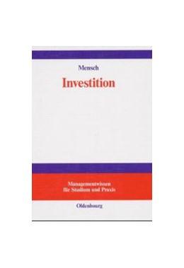 Abbildung von Mensch | Investition | Reprint 2018 | 2002 | Investitionsrechnung in der Pl...