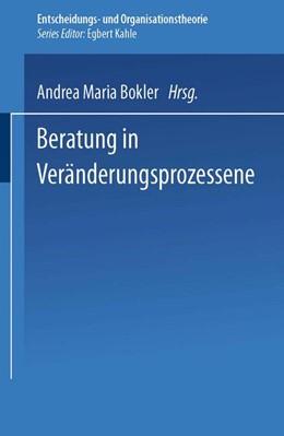 Abbildung von Bokler | Beratung in Veränderungsprozessen | 2004 | Zugl. Diss. Universität Lünebu...