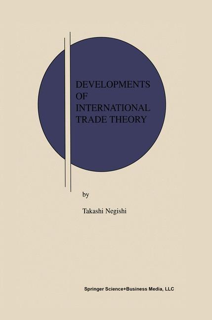 Abbildung von Negishi | Developments of International Trade Theory | 2001