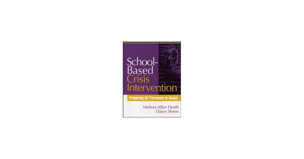 School Based Crisis Intervention Heath Sheen 2005 Buch Beck
