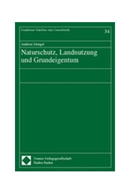 Abbildung von Mengel | Naturschutz, Landnutzung und Grundeigentum | 2004