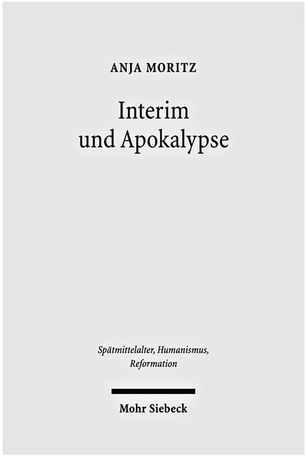 Interim und Apokalypse   Moritz, 2010   Buch (Cover)