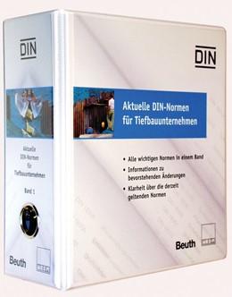 Abbildung von DIN | Aktuelle DIN-Normen für Tiefbauunternehmen | 1. Auflage | 2019 | beck-shop.de