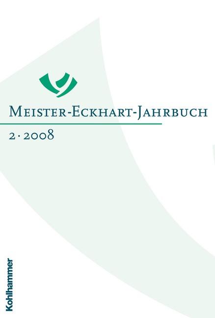 Abbildung von Quero-Sánchez / Steer | Meister-Eckhart-Jahrbuch | 2008