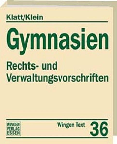 Abbildung von Klatt / Klein / Kaul / Müller / Stenner | Gymnasien Rheinland-Pfalz | Loseblattwerk mit 74. Aktualisierung | 2015