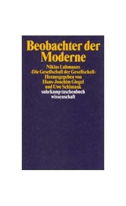 Abbildung von Giegel / Schimank | Beobachter der Moderne | 2003