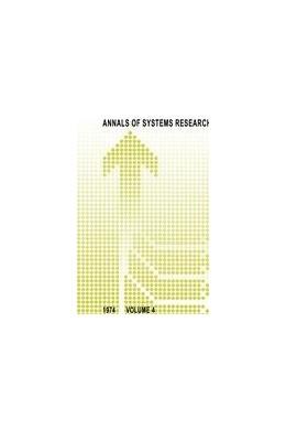 Abbildung von van Rootselaar | Annals of Systems Research | 1976 | Volume 4 | 4
