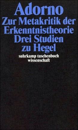 Abbildung von Adorno | Gesammelte Schriften in 20 Bänden | 2003 | Band 5: Zur Metakritik der Erk... | 1705